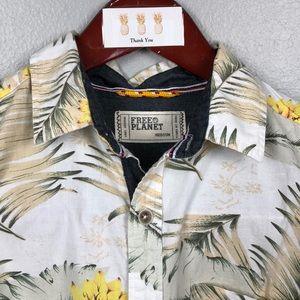 "Free Plant ""Tropical"" shirt - size M"